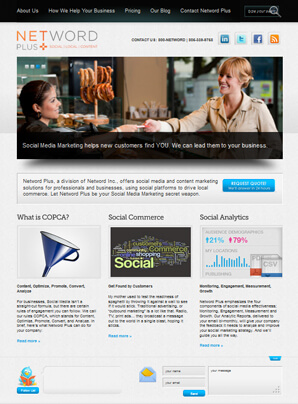 Netword Plus Homepage