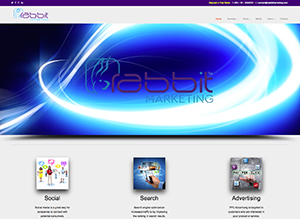 Rabbit Marketing Homepage